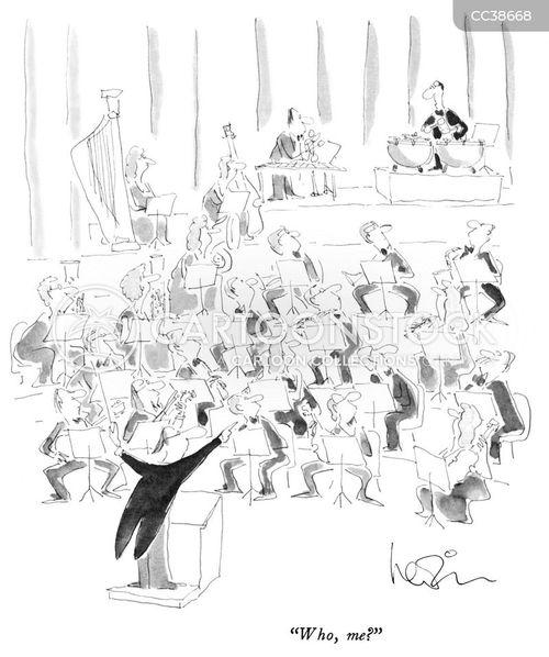 conductors cartoon