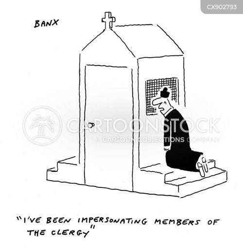 impersonate cartoon
