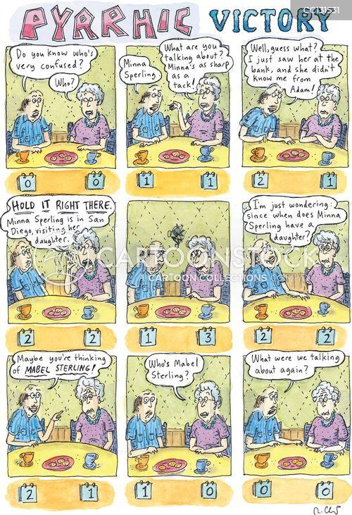 argumentative cartoon