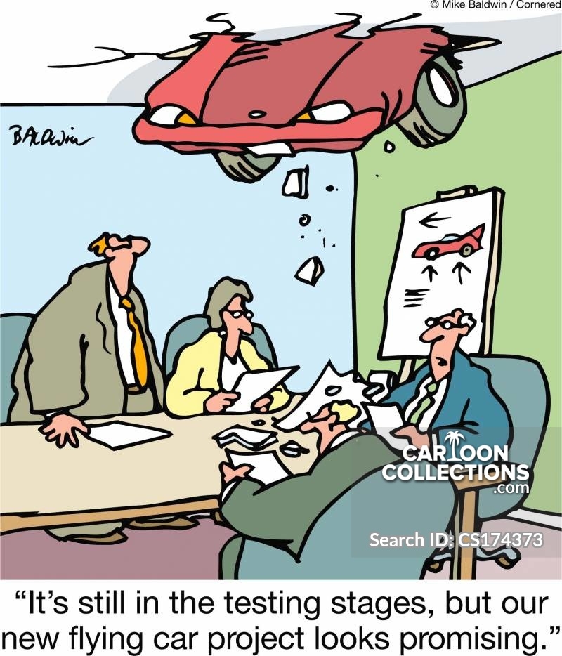 Alternative Transportation cartoon