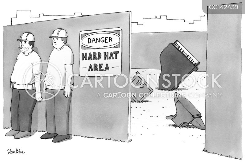 construction work cartoon