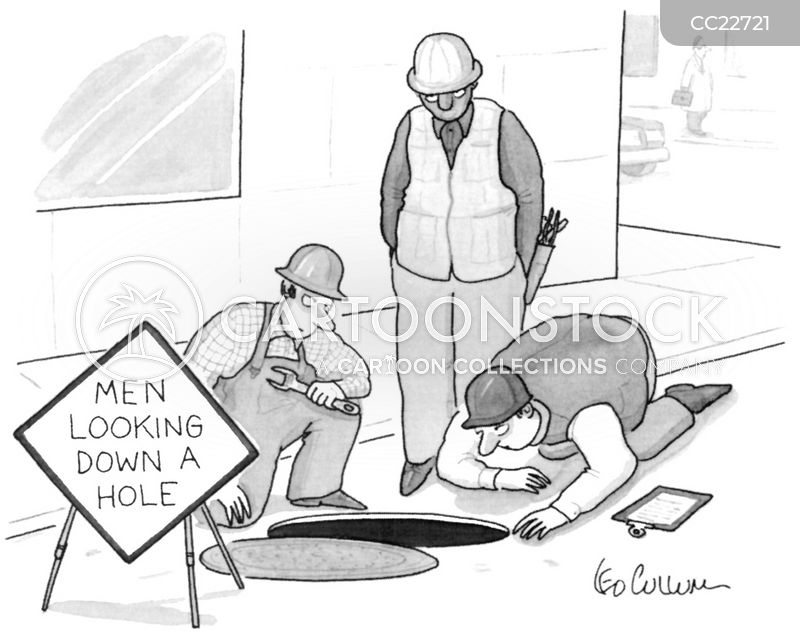 construction zones cartoon