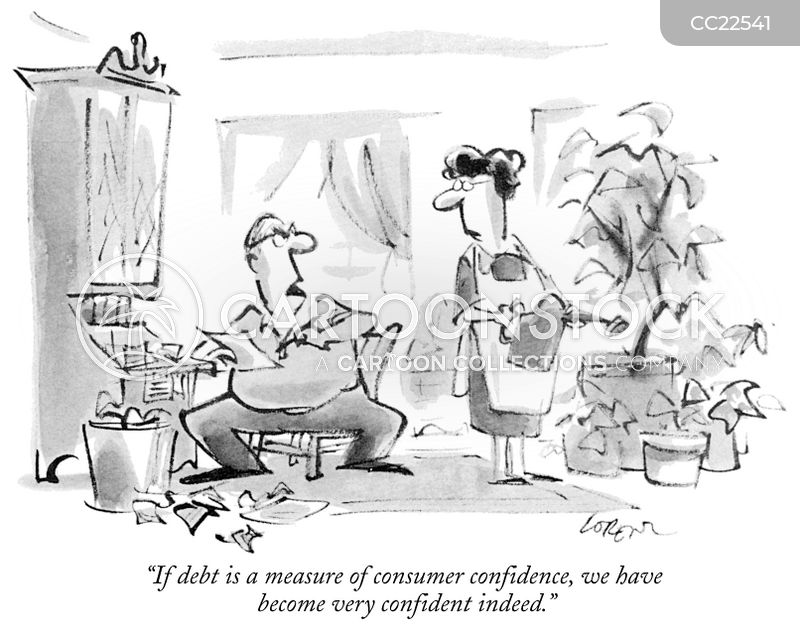 consumers cartoon