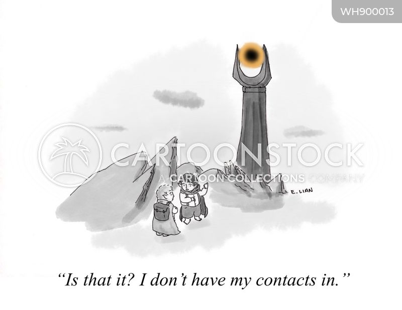 optometry cartoon