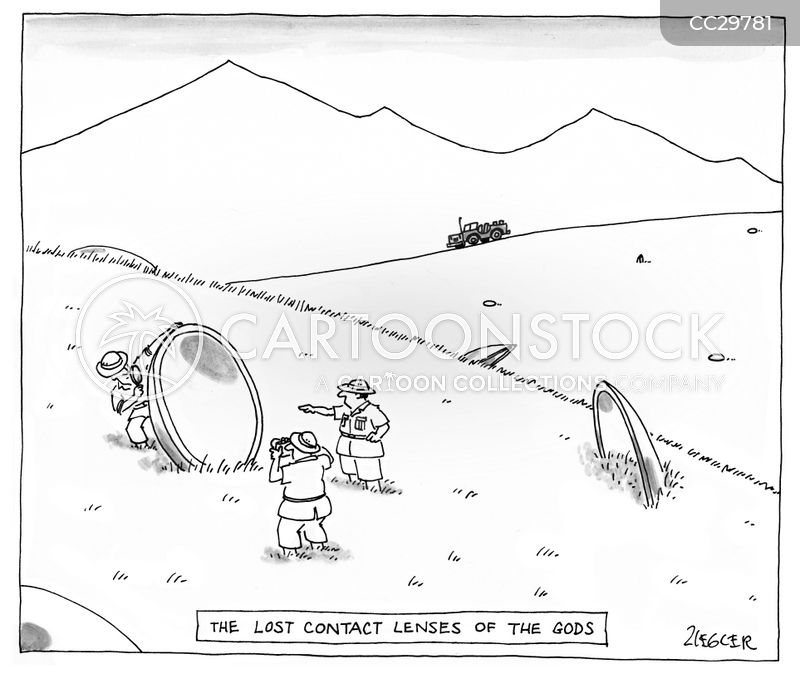 Ancient Artefact cartoon