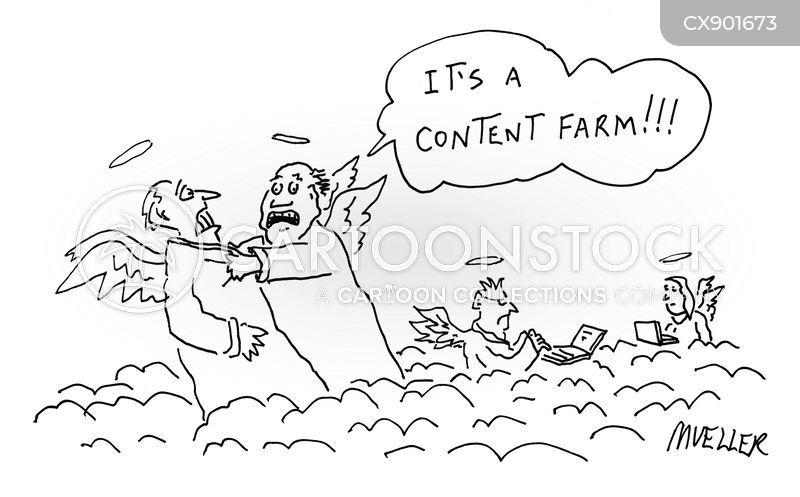 search engine optimization cartoon