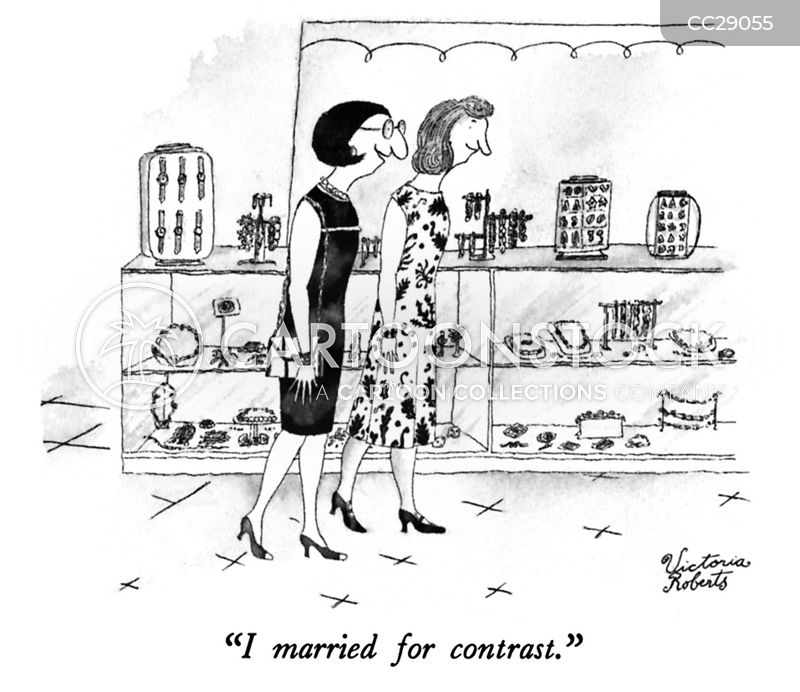 Husband Material cartoon