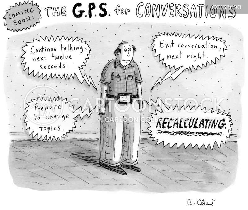 g.p.s cartoon