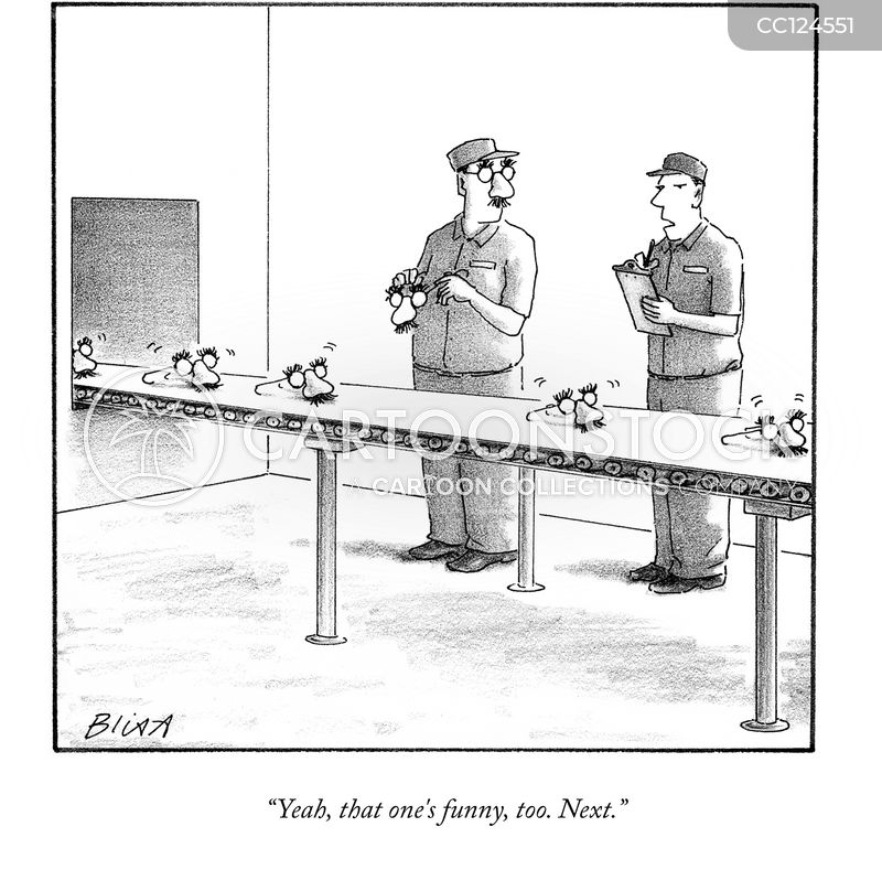 manufacturing cartoon