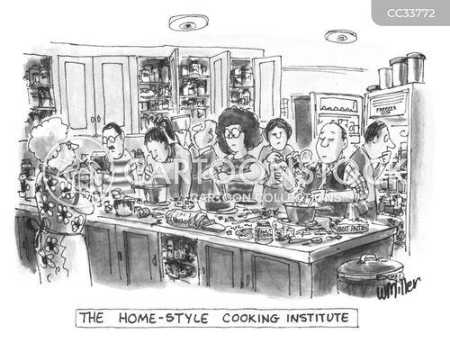 cookery schools cartoon