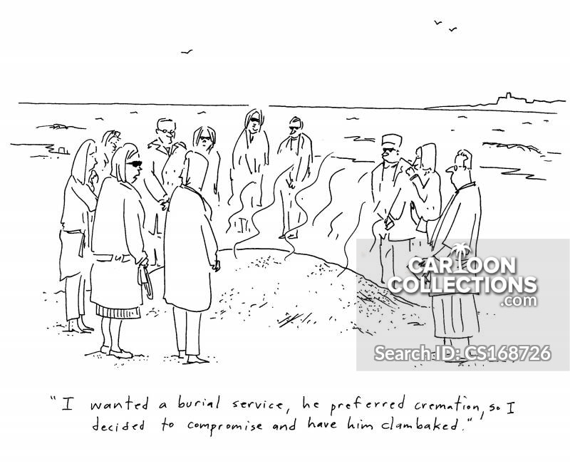 Clam Bake cartoon