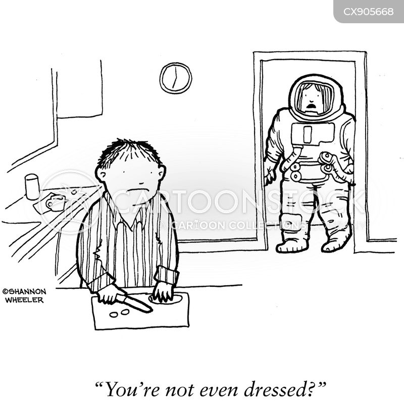 get dressed cartoon