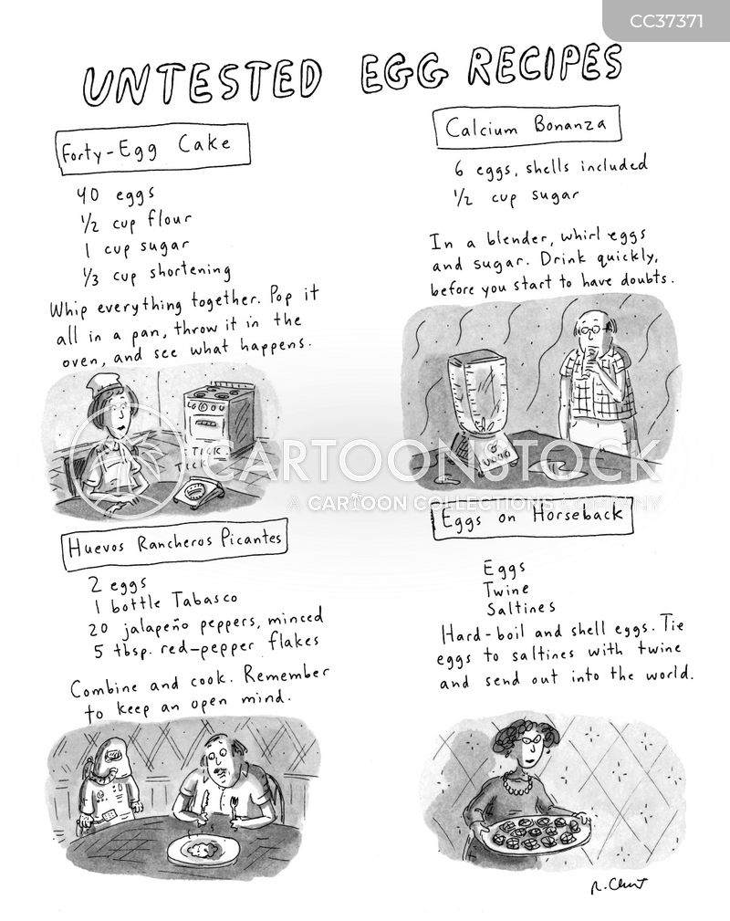 cookbooks cartoon