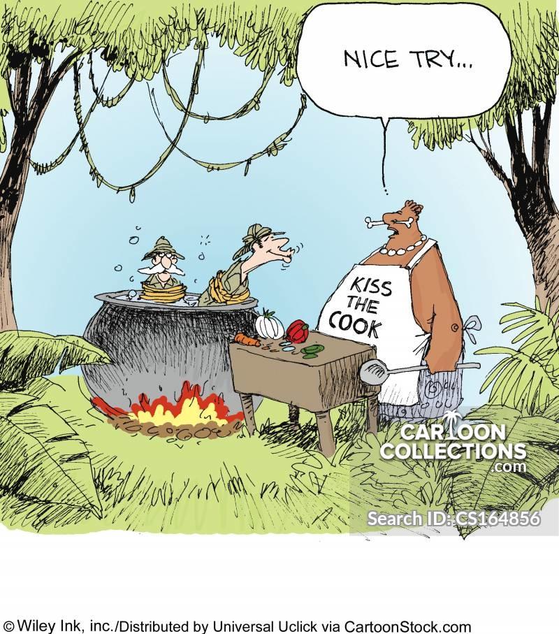 cooking pot cartoon