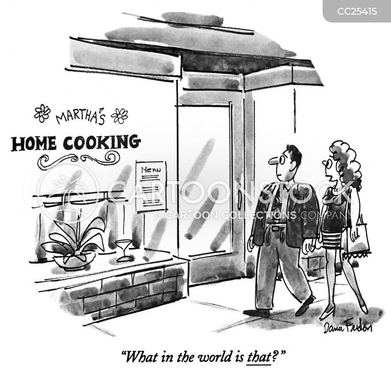 home-cooked cartoon