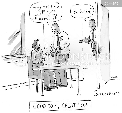 good cop cartoon