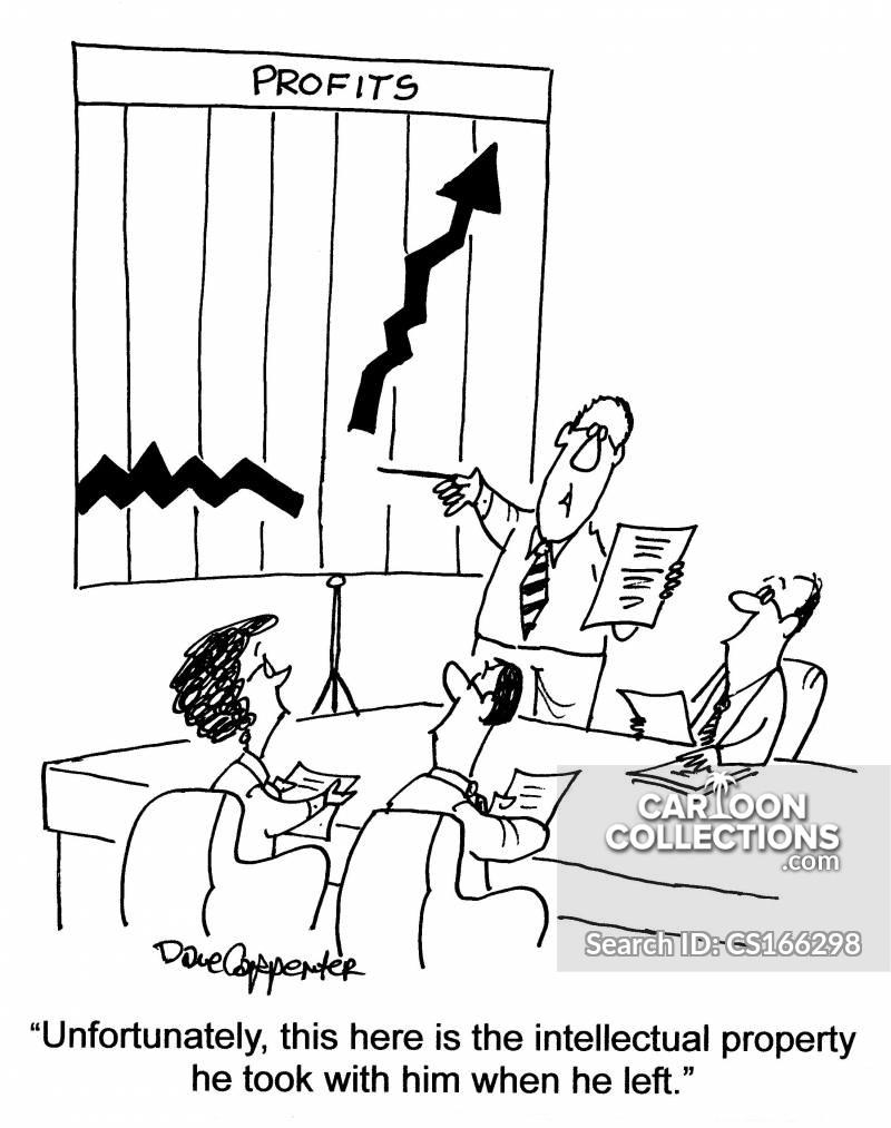 intellectual ownership cartoon