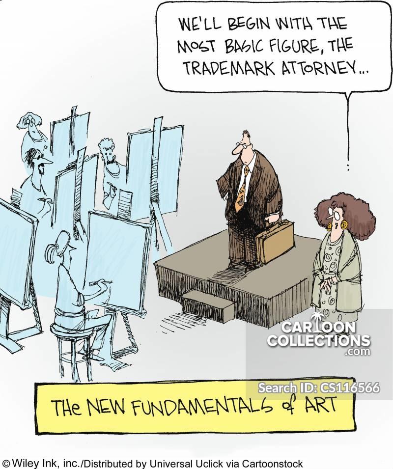 trademark restrictions cartoon