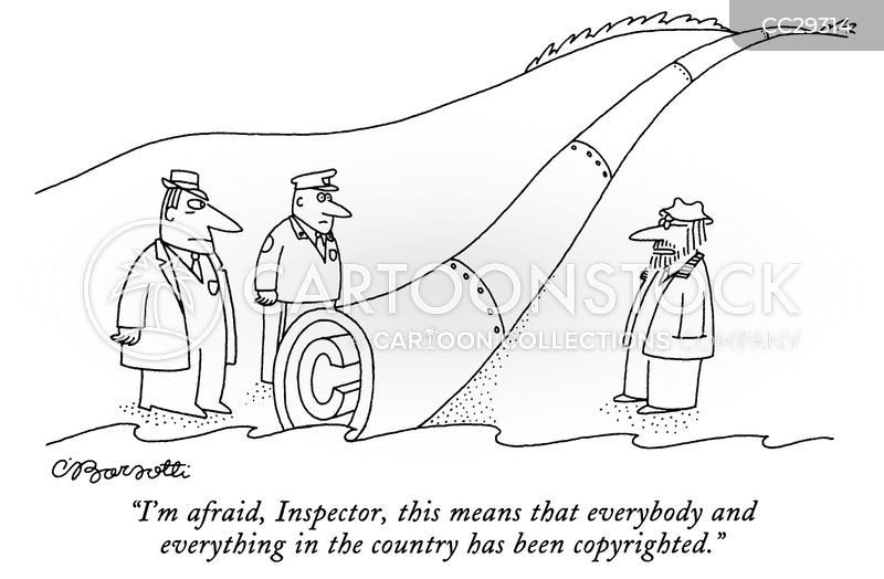 trademark laws cartoon