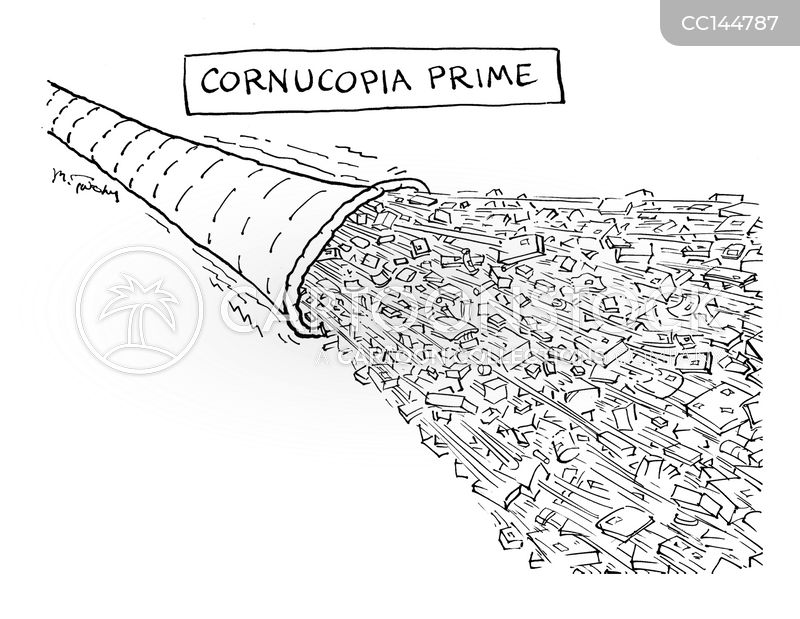 overconsumption cartoon