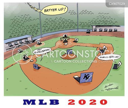 sports season cartoon