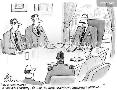 transparency cartoon