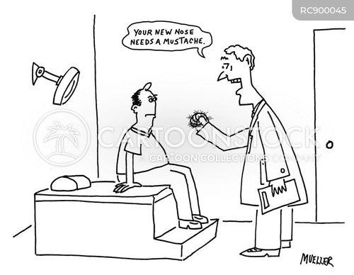cosmetic surgeon cartoon