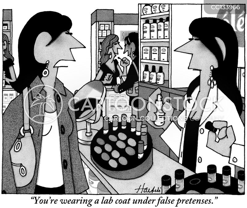 skin-care cartoon