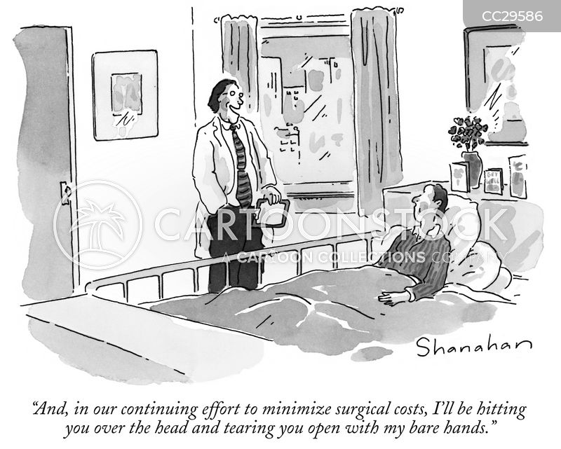 surgeon cartoon