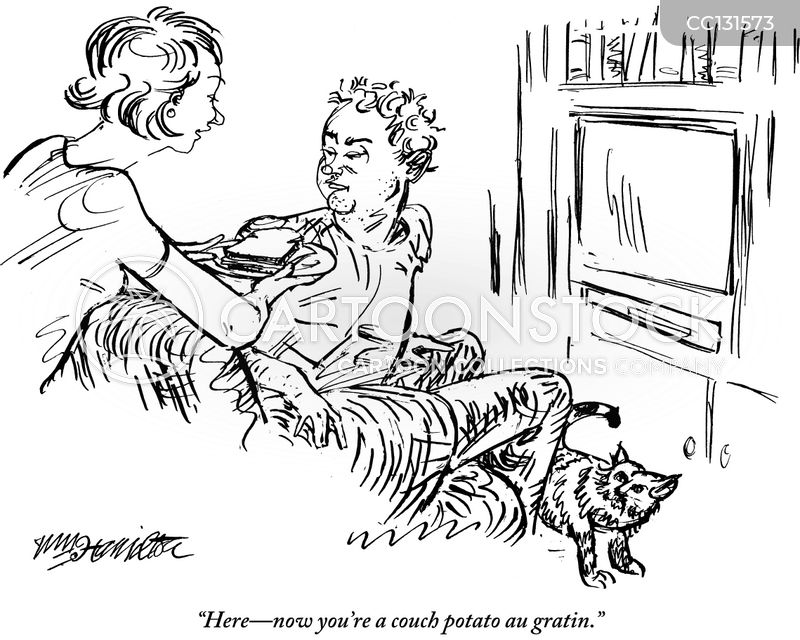 doting wife cartoon