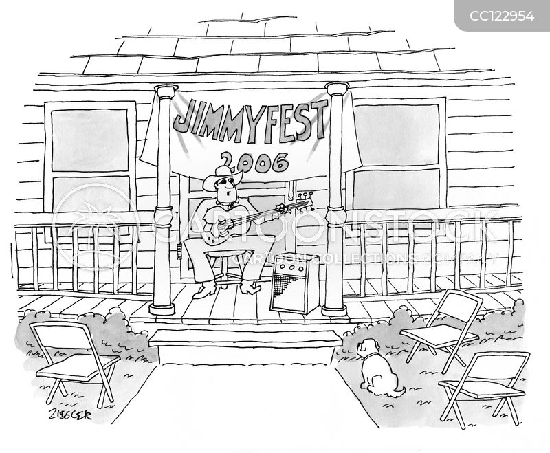 country singers cartoon