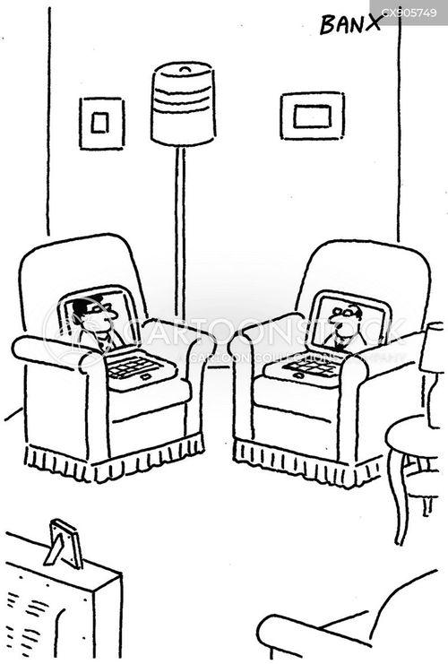 socially distance cartoon