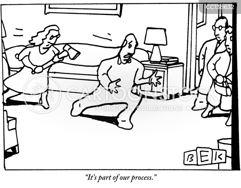 processes cartoon