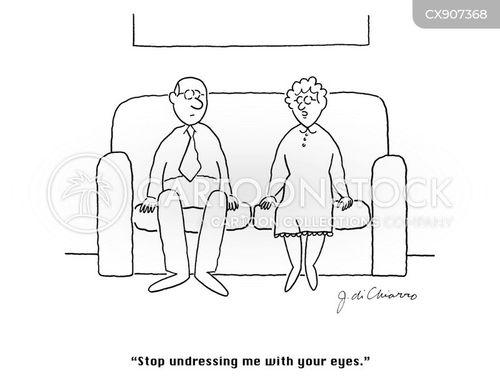 undressed cartoon
