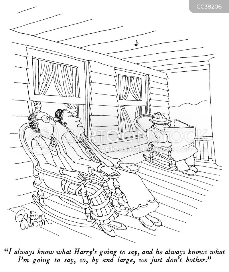 porch cartoon