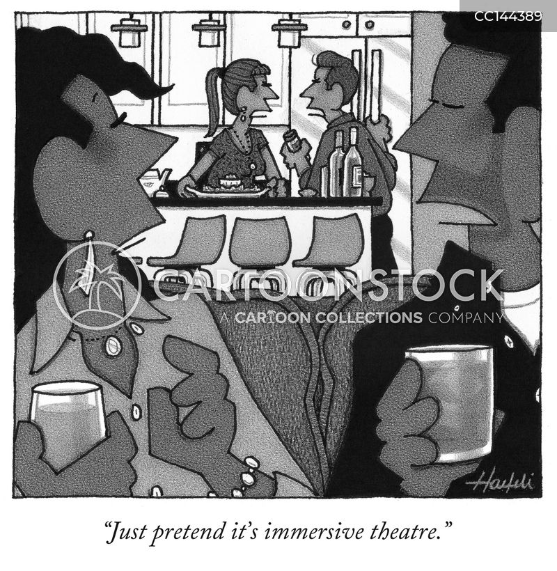 domestics cartoon