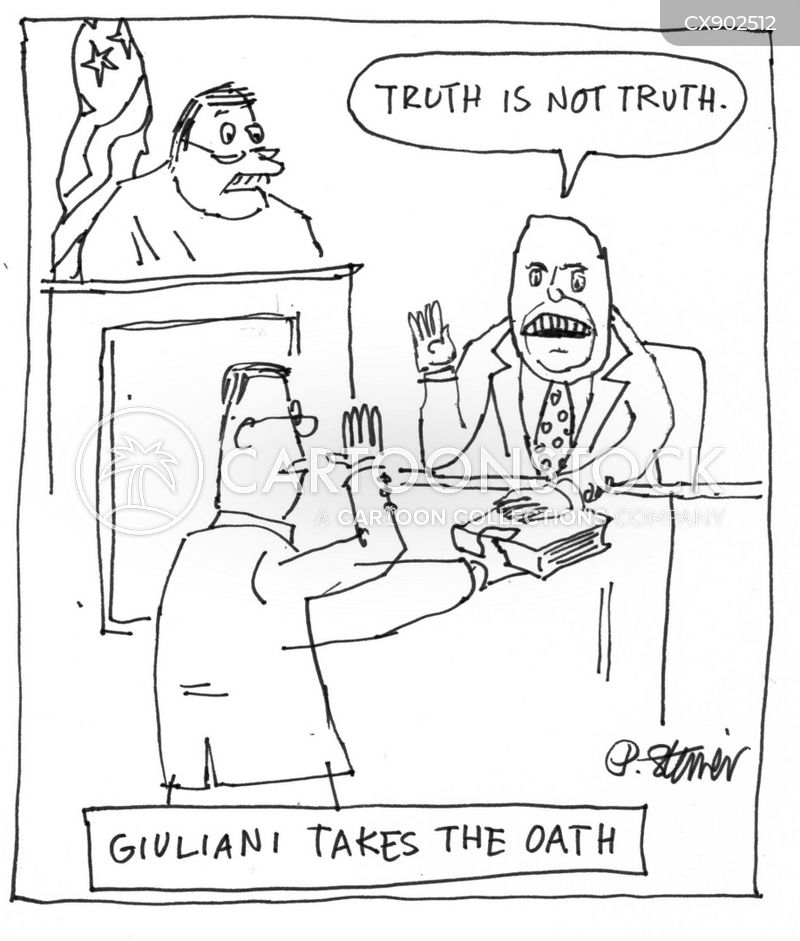 oaths cartoon