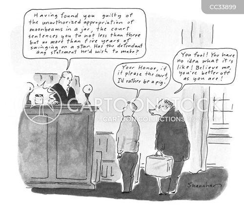 sentencing cartoon
