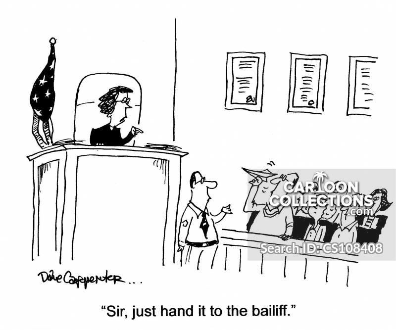 jurys cartoon