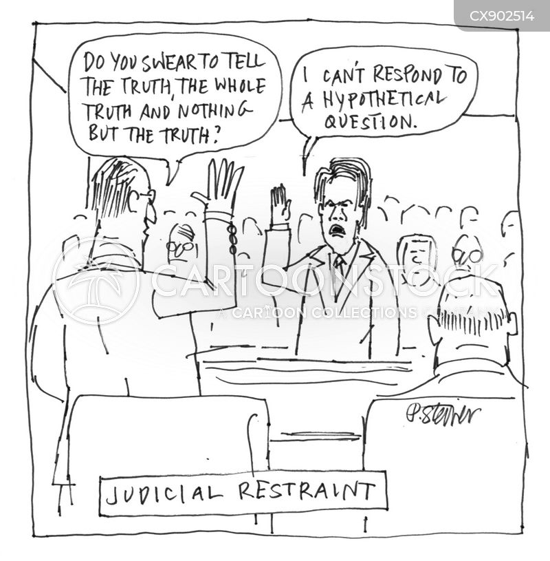 non-committal cartoon