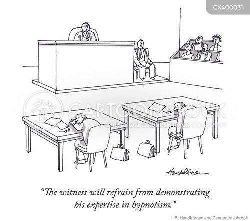 hypnotist cartoon