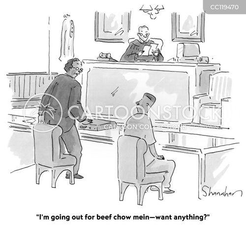 courthouse cartoon