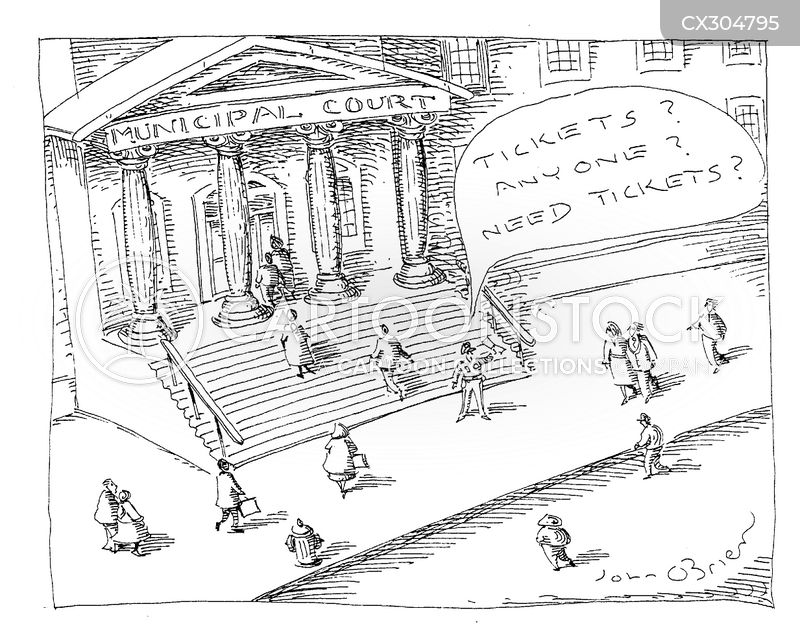 scalping cartoon
