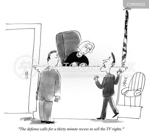 defense counsel cartoon