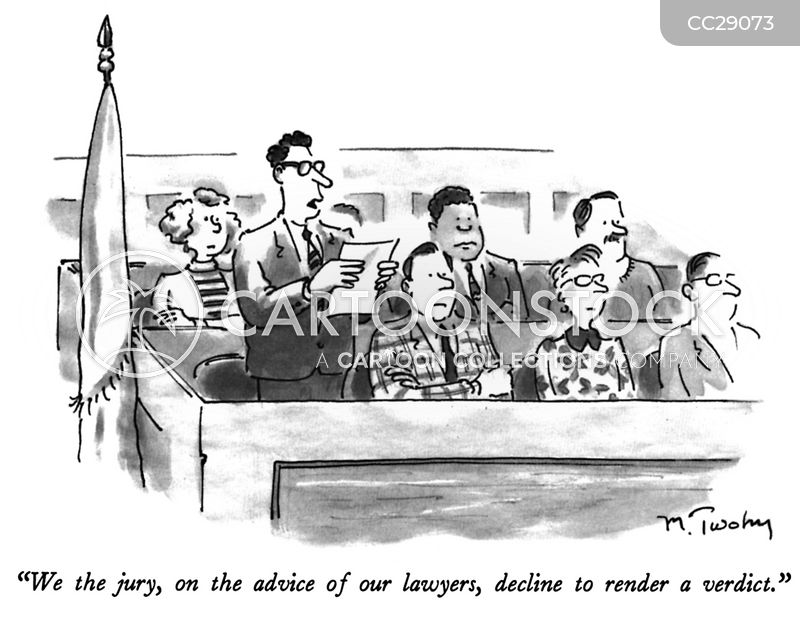 judgement cartoon
