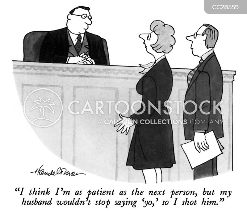 legal counsel cartoon