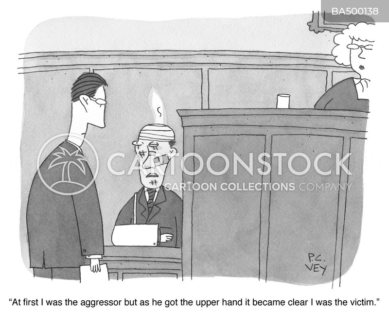 upper hand cartoon