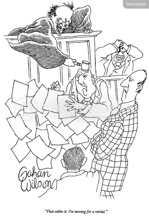 retrial cartoon