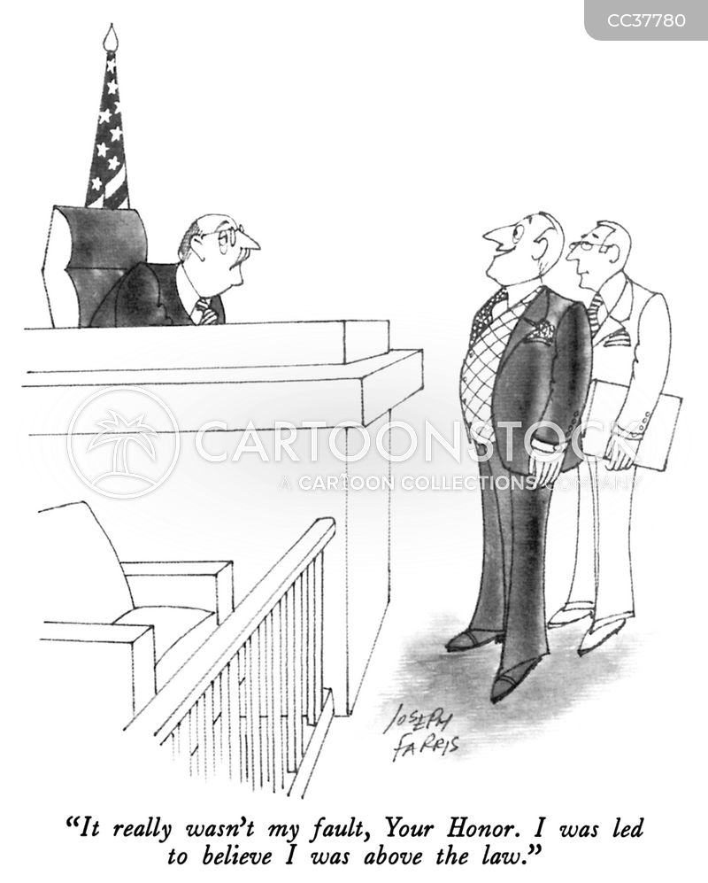 justice system cartoon