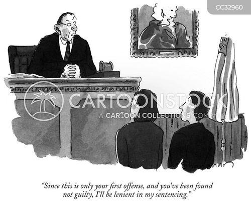 not guilty cartoon